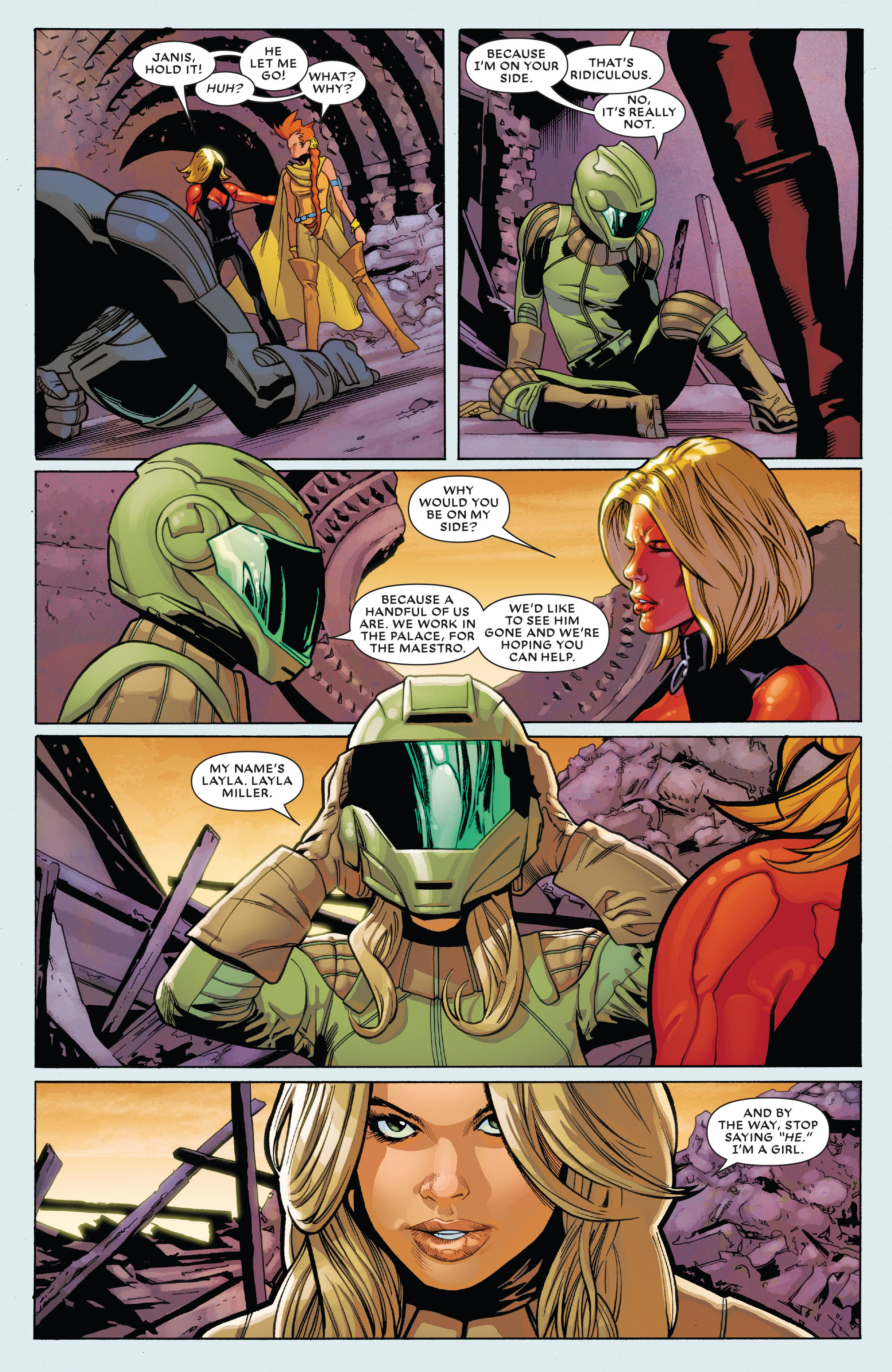Read online Future Imperfect comic -  Issue #2 - 22