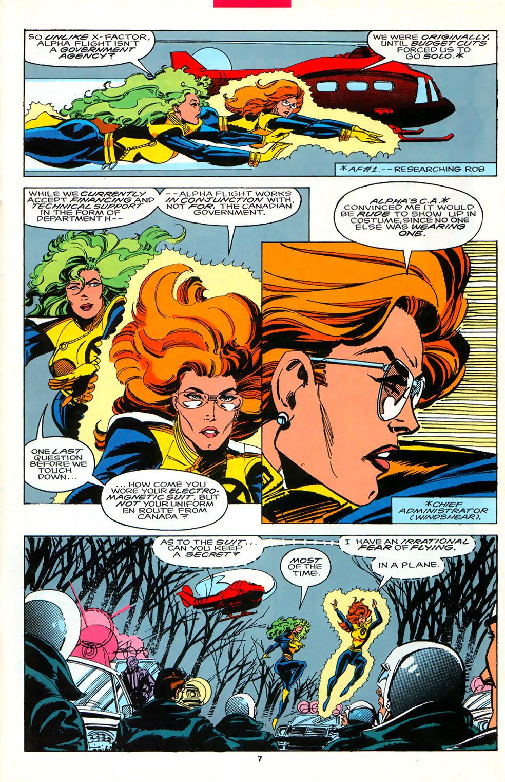 Read online Alpha Flight (1983) comic -  Issue #107 - 6