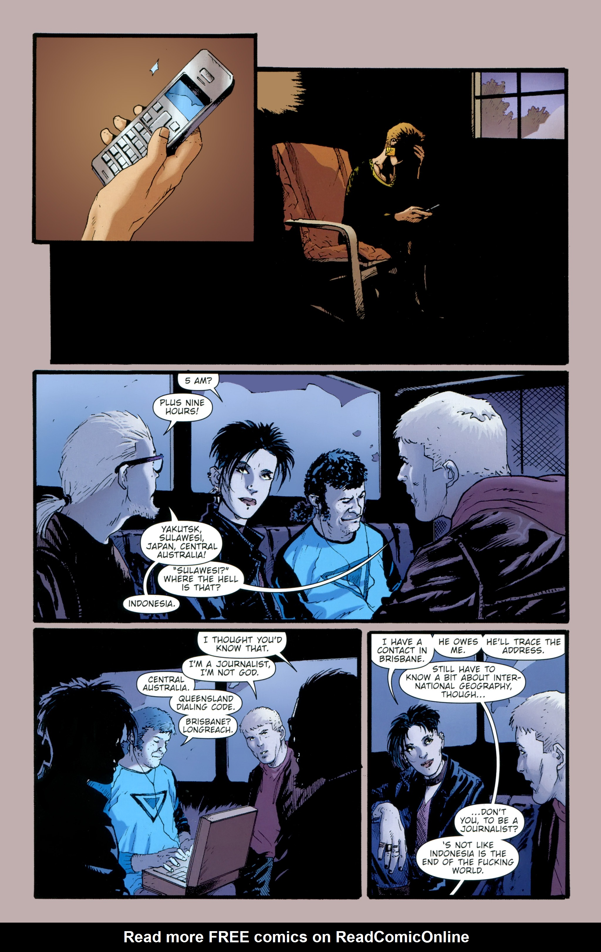 Read online The Girl With the Dragon Tattoo comic -  Issue # TPB 2 - 131