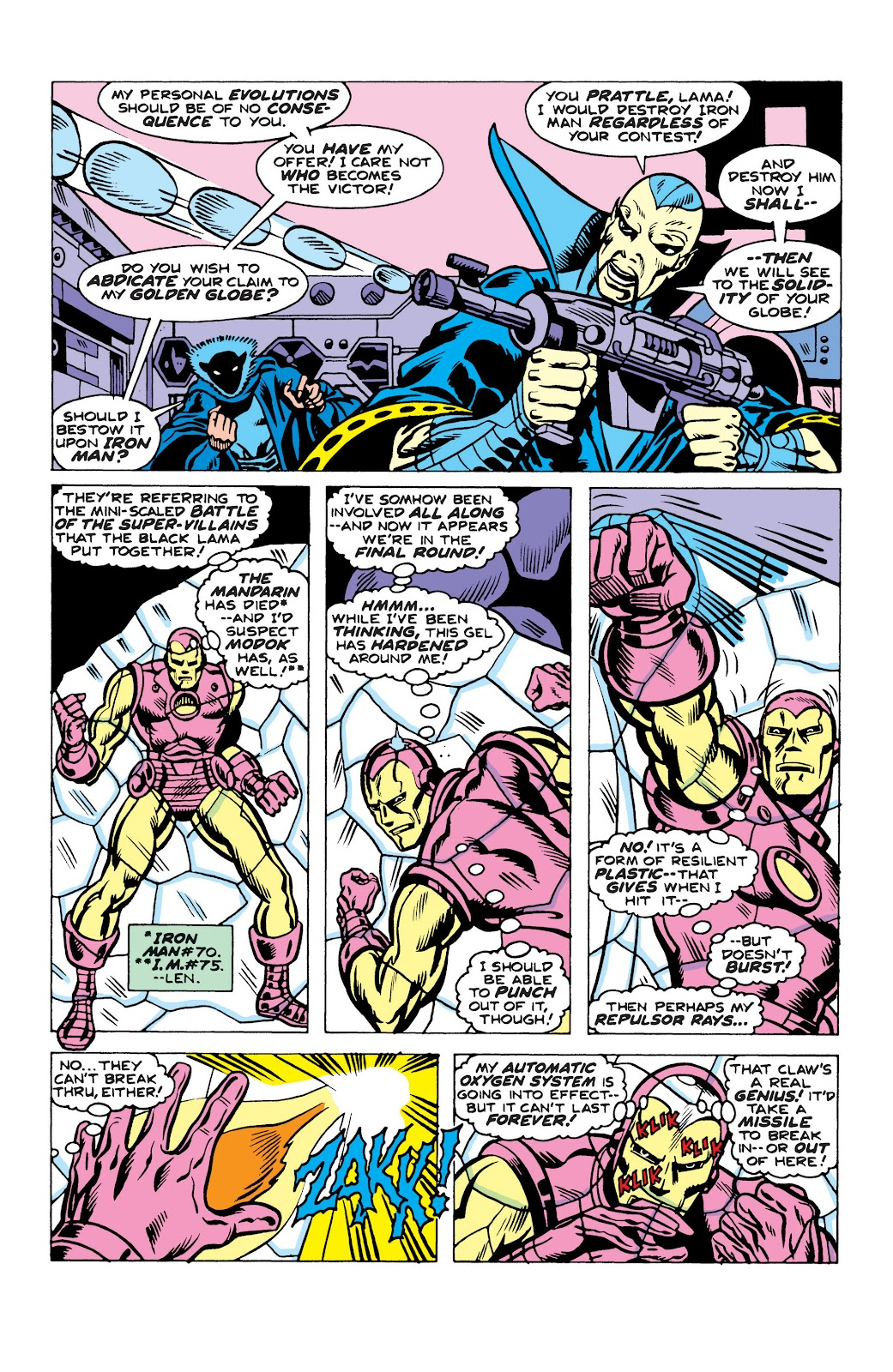 Read online Marvel Masterworks: The Invincible Iron Man comic -  Issue # TPB 10 (Part 2) - 63
