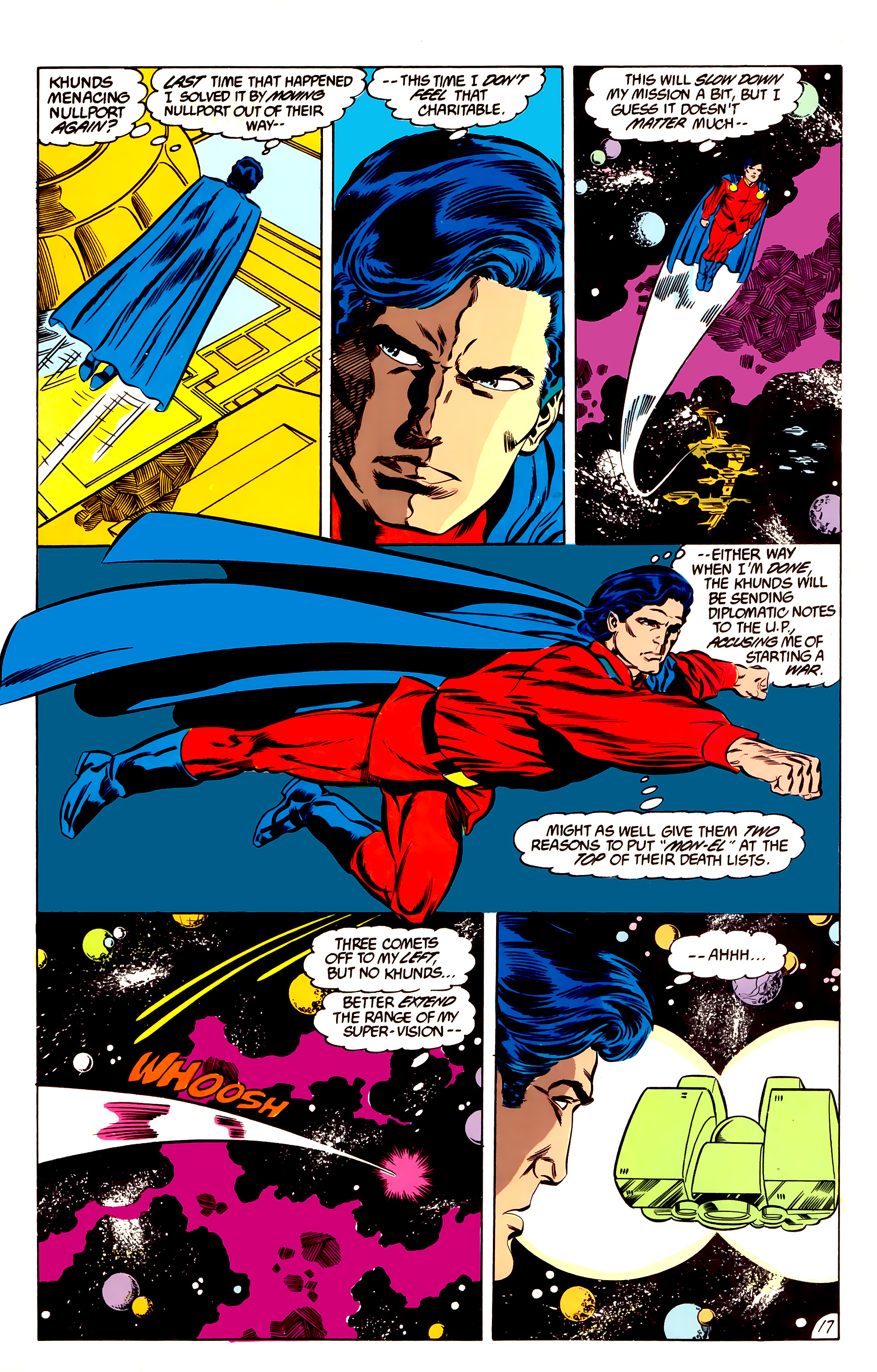 Legion of Super-Heroes (1984) 47 Page 17