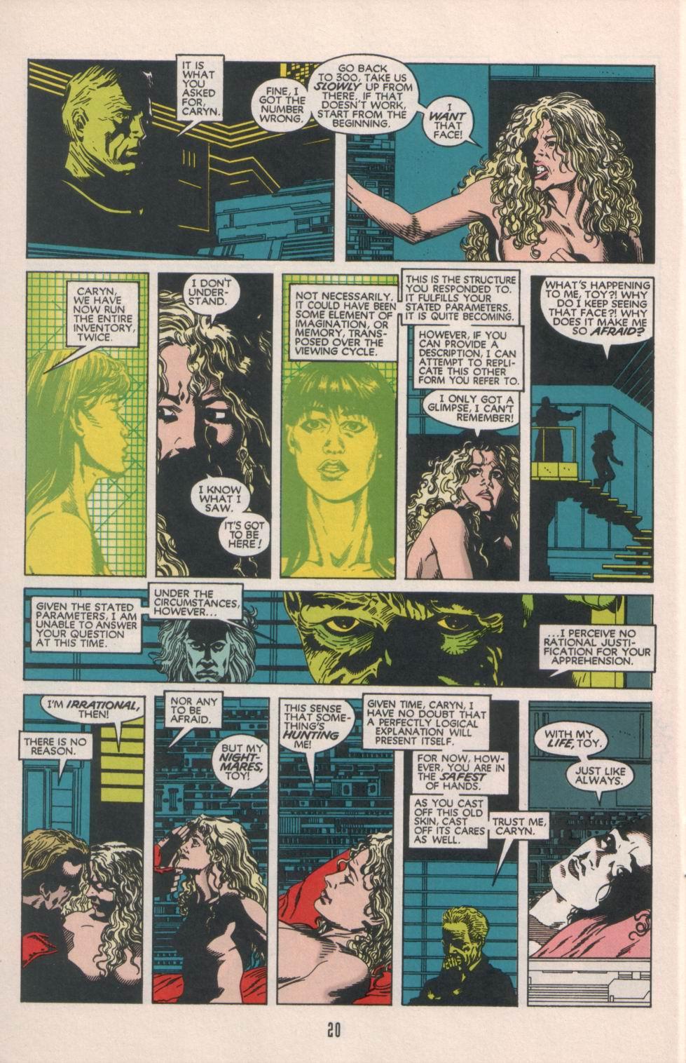 Read online Aliens/Predator: The Deadliest of the Species comic -  Issue #1 - 21