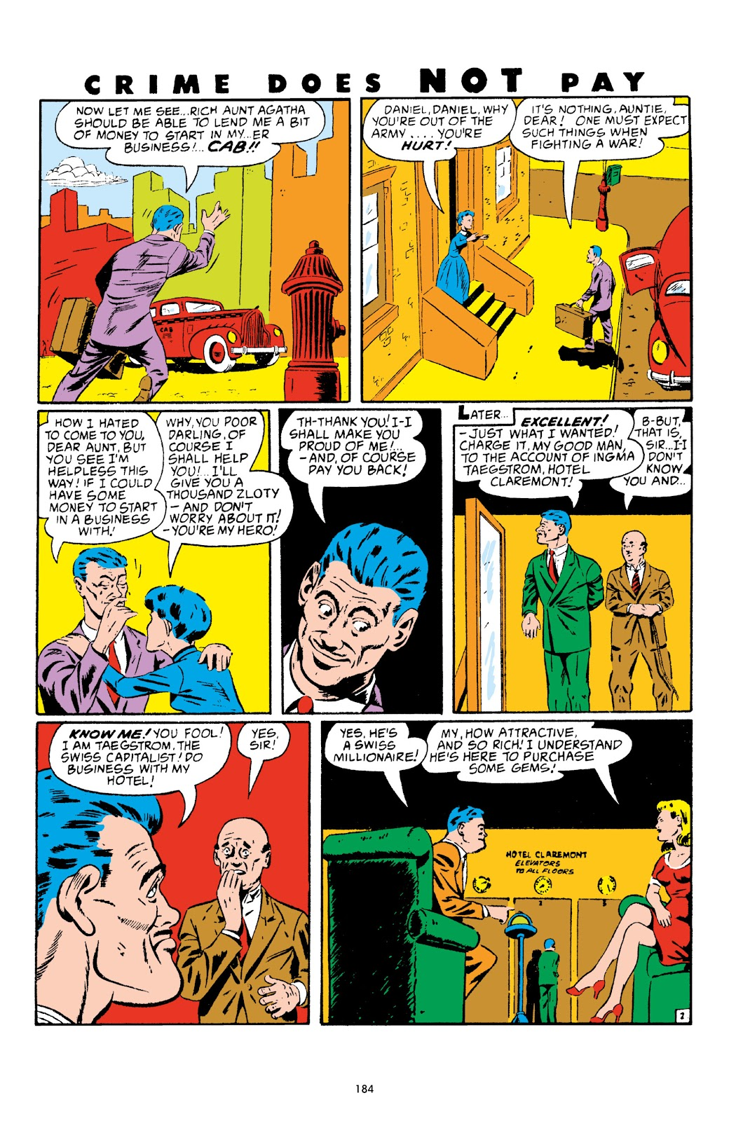 Read online Crime Does Not Pay Archives comic -  Issue # TPB 4 (Part 2) - 84