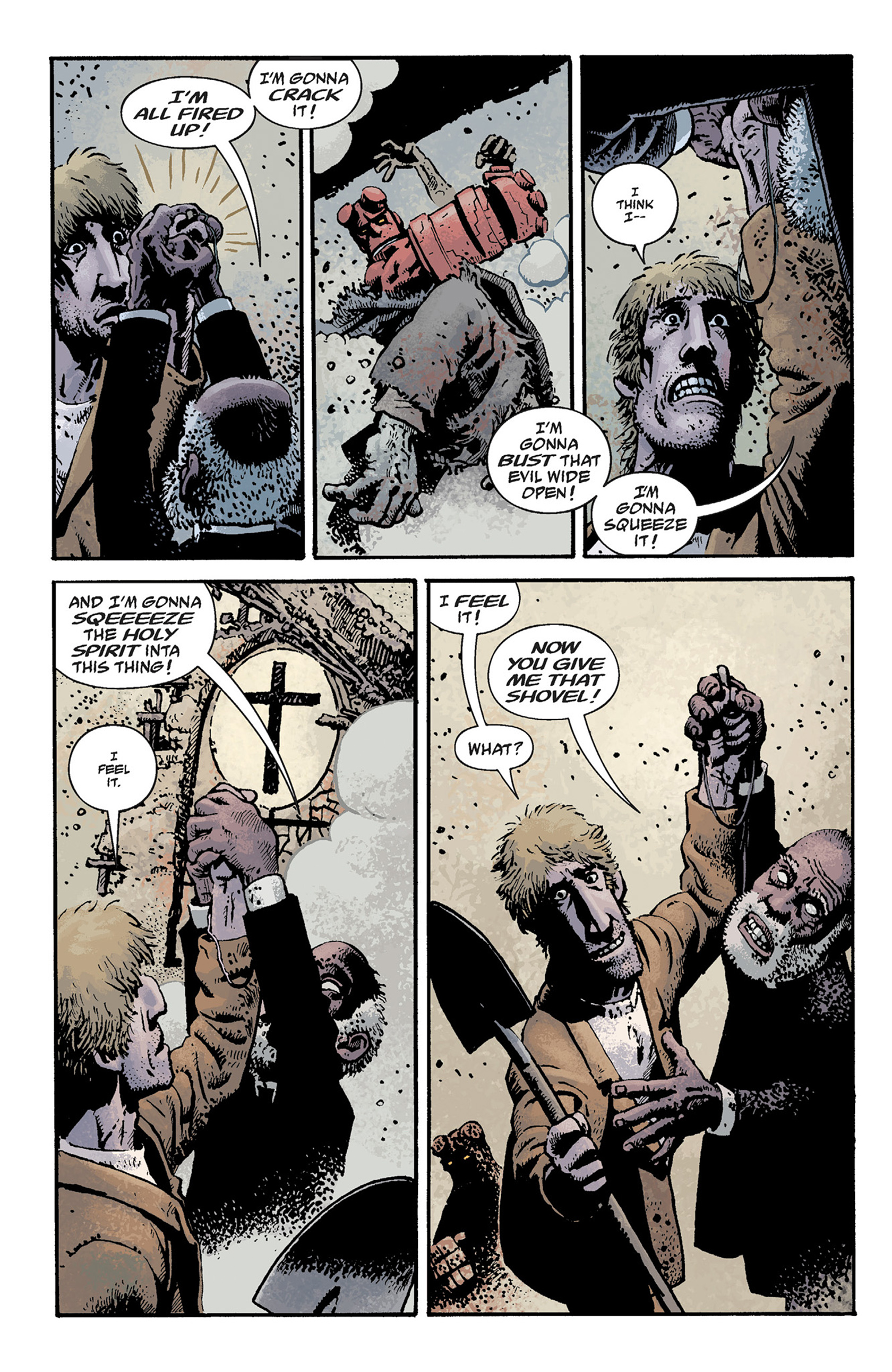 Read online Hellboy: The Crooked Man and Others comic -  Issue # TPB - 72