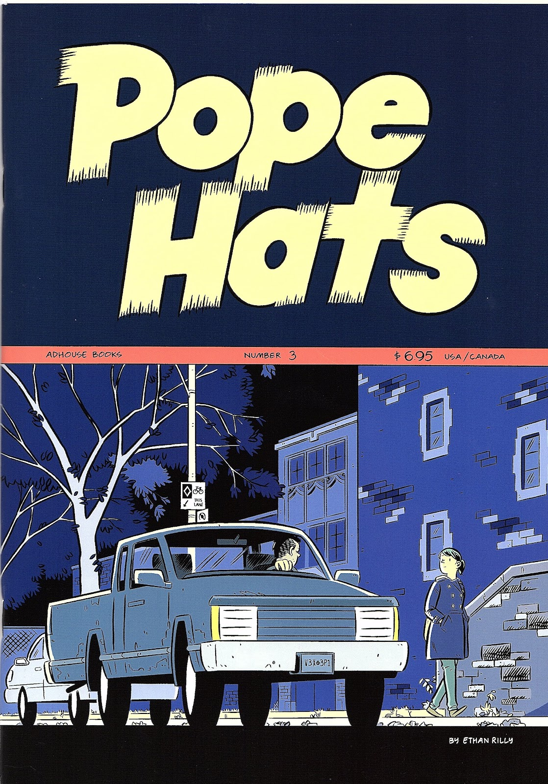 Read online Pope Hats comic -  Issue #3 - 1