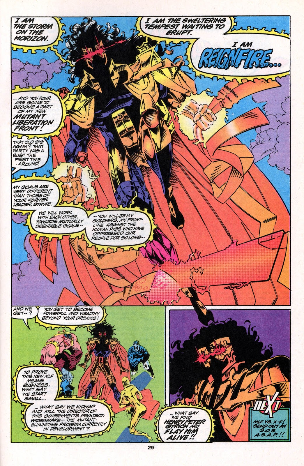 X-Force (1991) Issue #26 #31 - English 29