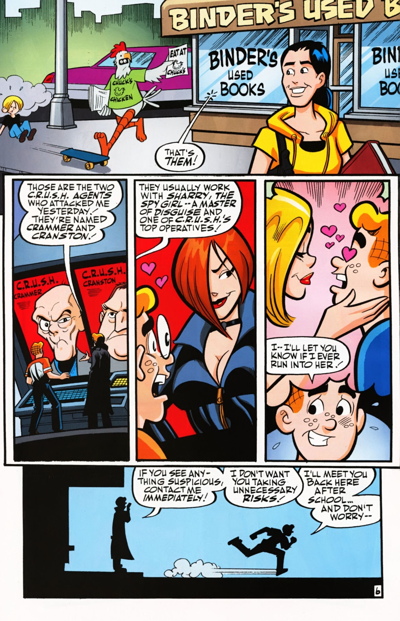 Read online Archie (1960) comic -  Issue #611 - 10