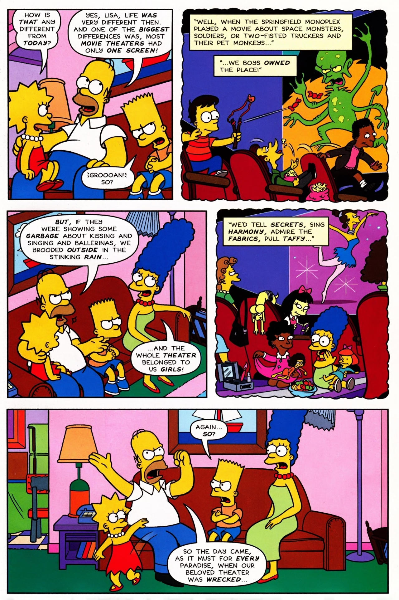 Read online Simpsons Comics Presents Bart Simpson comic -  Issue #42 - 5
