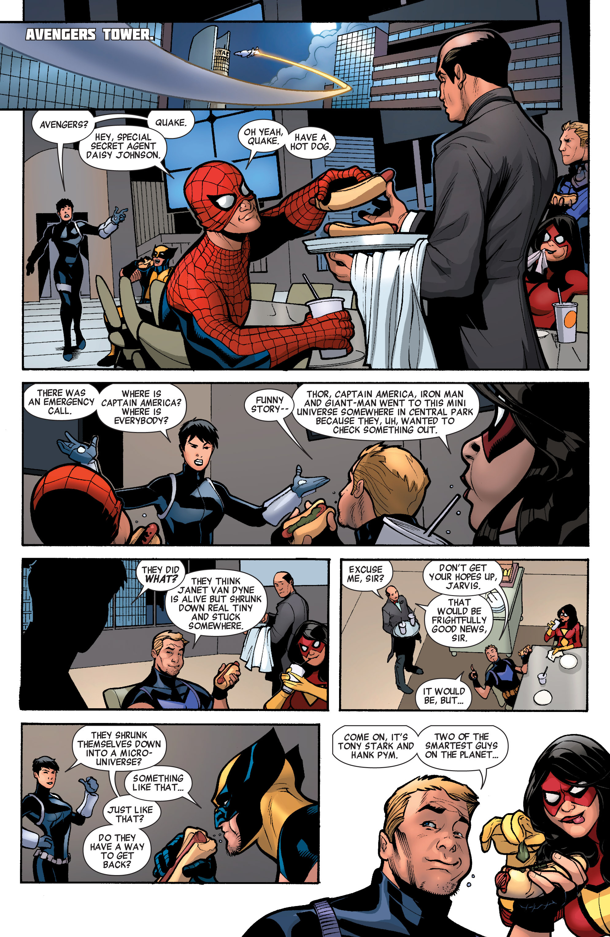 Read online Avengers (2010) comic -  Issue #33 - 3