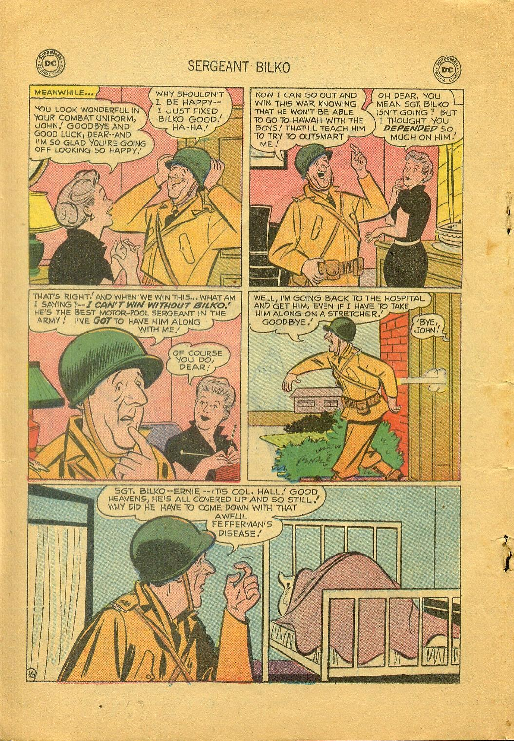 Sergeant Bilko issue 1 - Page 18