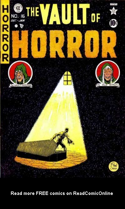 The Vault of Horror (1950) issue 16 - Page 1