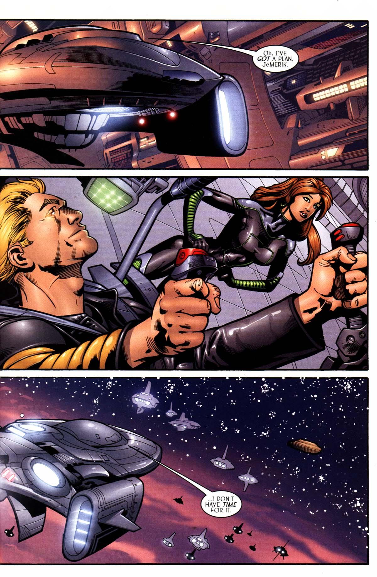 Read online Sigil (2000) comic -  Issue #23 - 17