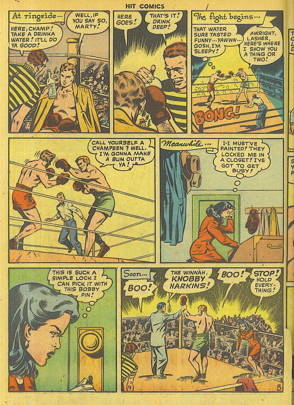 Read online Hit Comics comic -  Issue #56 - 36