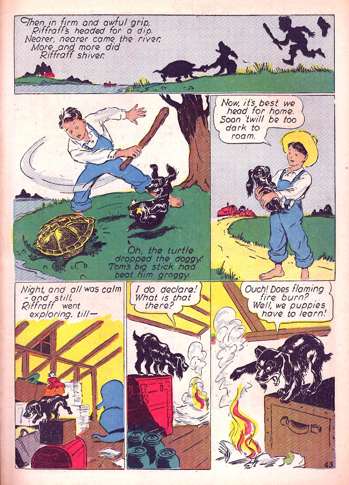 Read online Animal Comics comic -  Issue #4 - 46