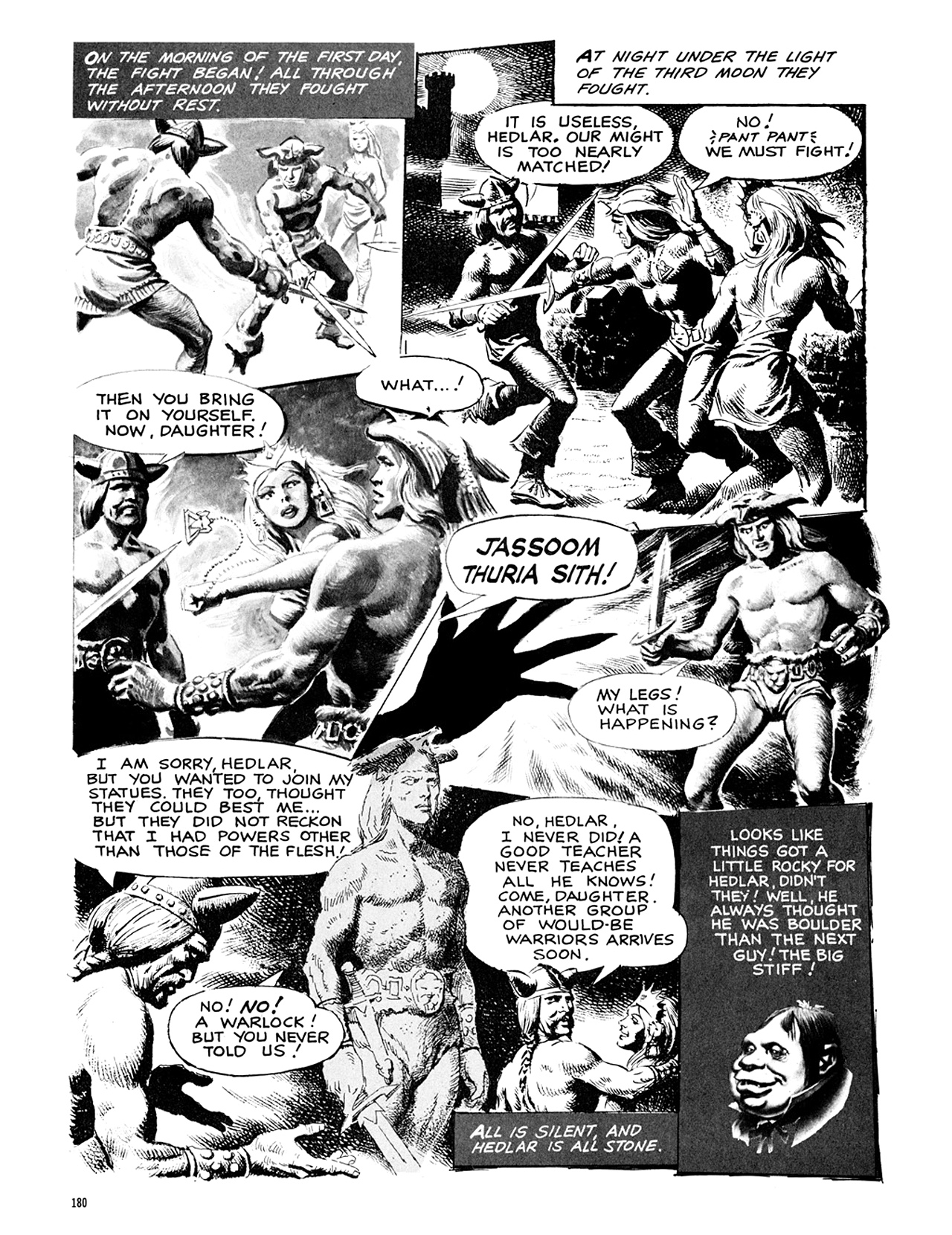 Read online Eerie Archives comic -  Issue # TPB 9 - 181