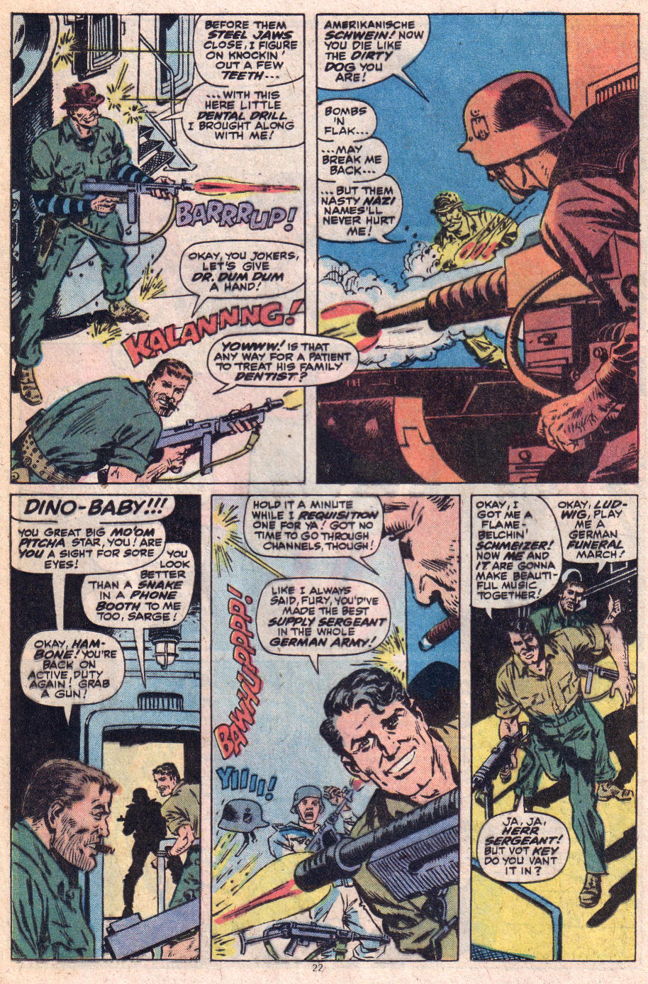 Read online Sgt. Fury comic -  Issue #153 - 23