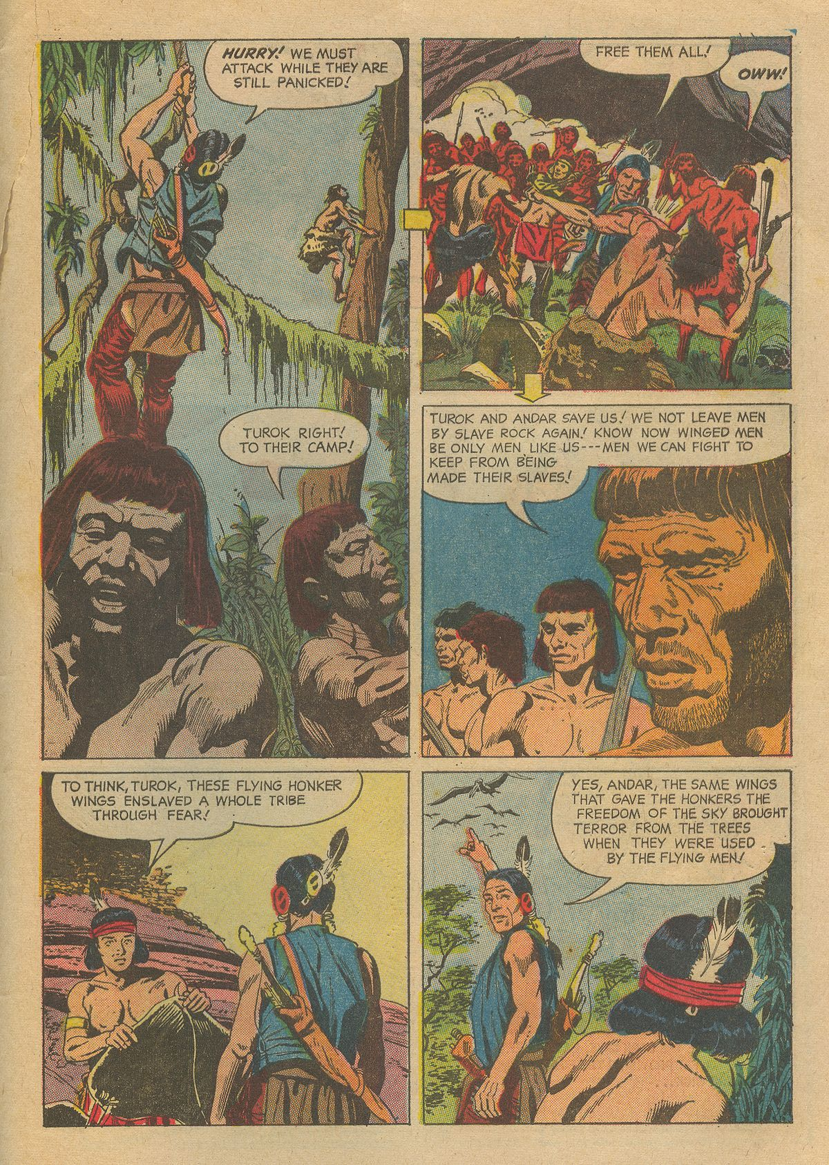 Read online Turok, Son of Stone comic -  Issue #54 - 33