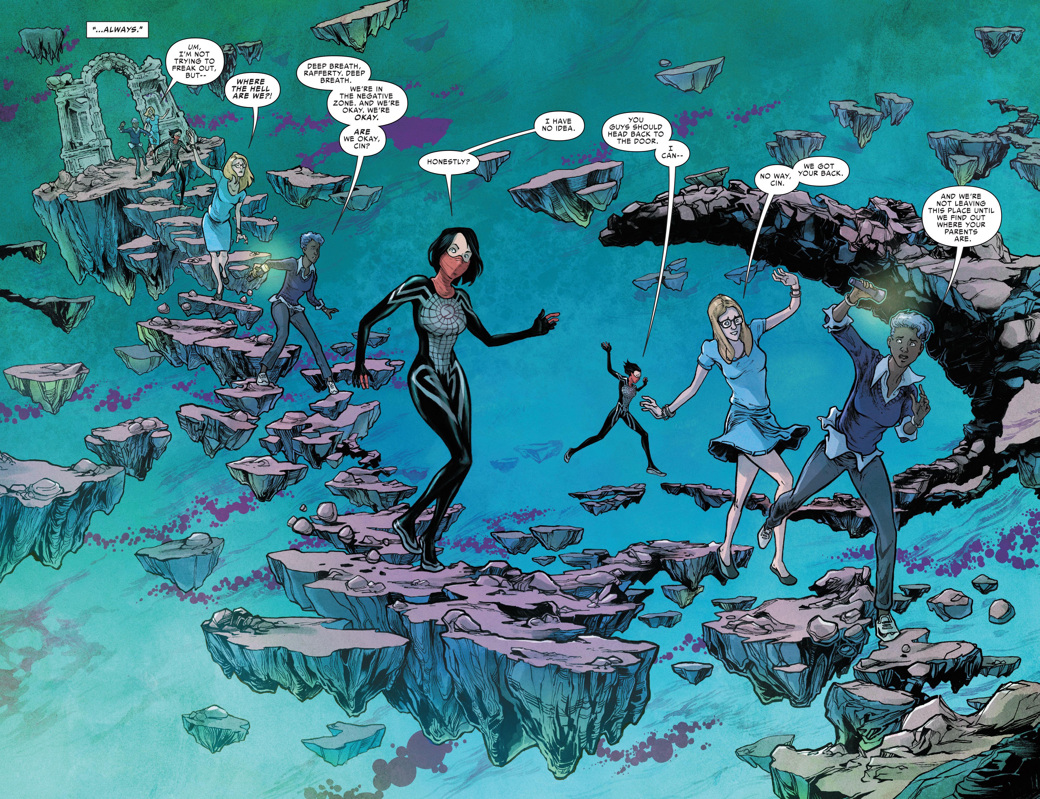 Read online Silk (2016) comic -  Issue #12 - 4