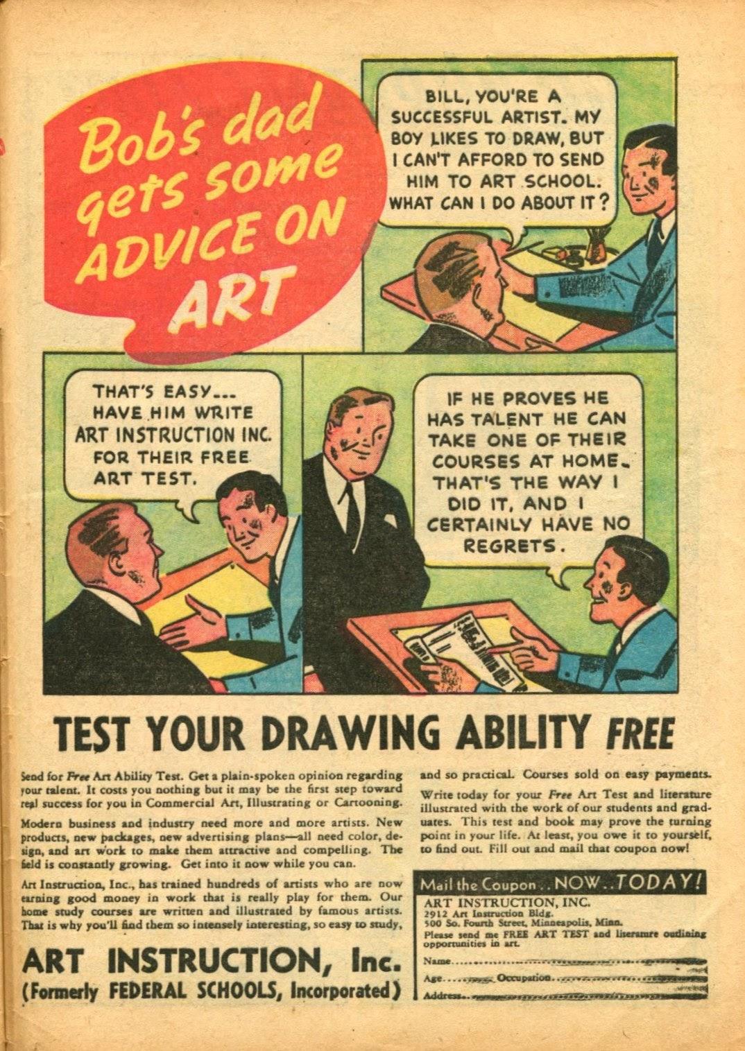 Read online Super-Magician Comics comic -  Issue #5 - 62
