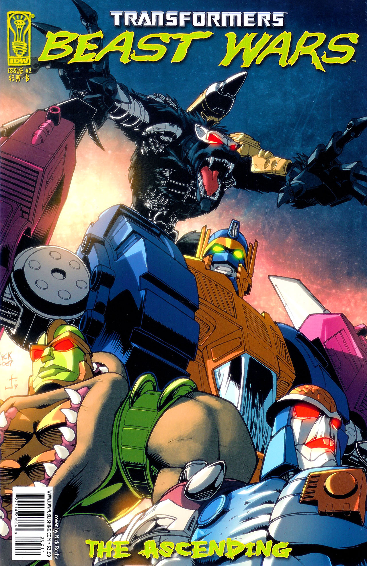 Read online Transformers: Beast Wars: The Ascending comic -  Issue #2 - 2