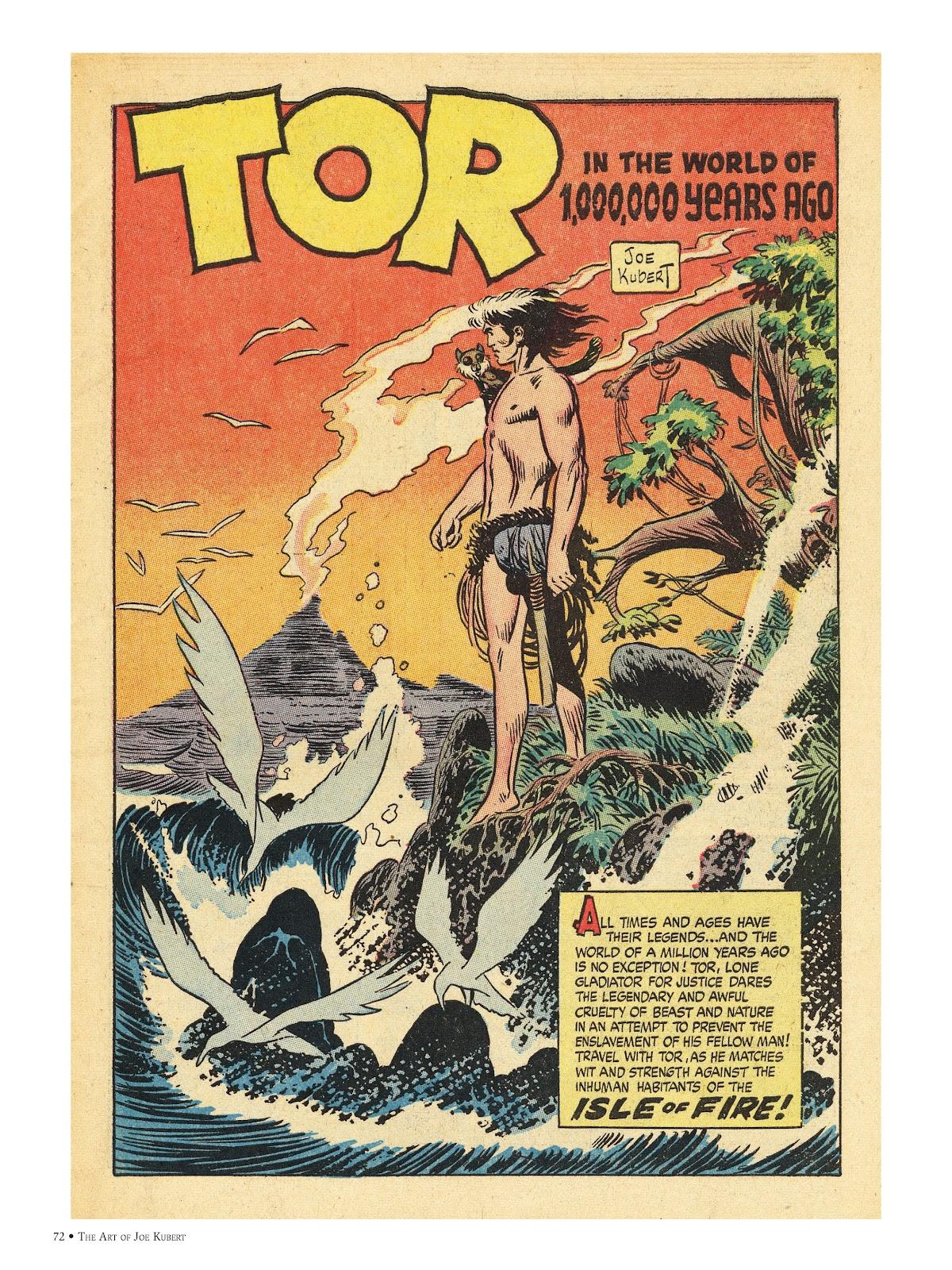 Read online The Art of Joe Kubert comic -  Issue # TPB (Part 1) - 71