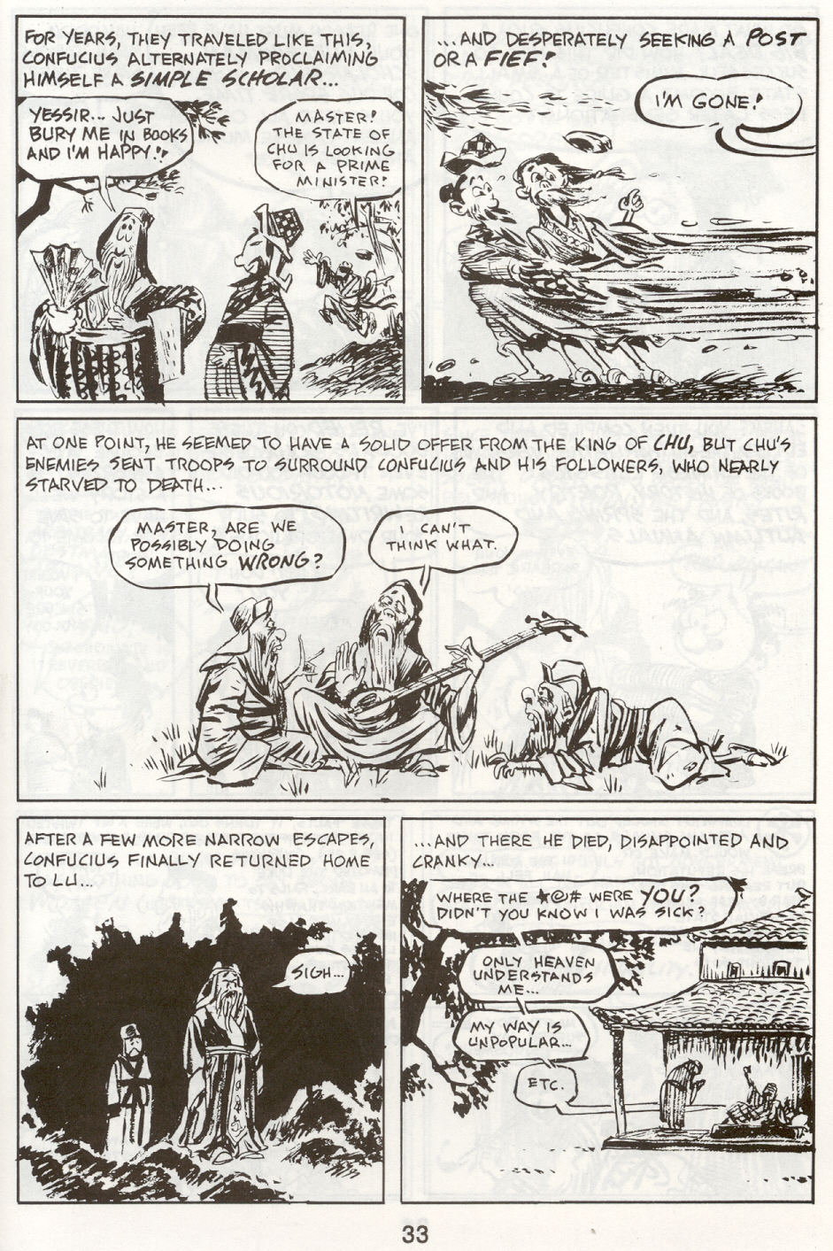 Read online The Cartoon History of the Universe comic -  Issue #9 - 36