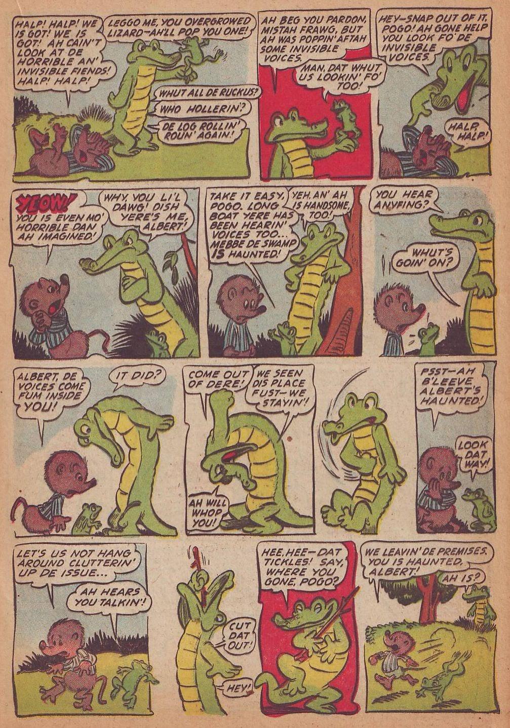 Read online Animal Comics comic -  Issue #16 - 21