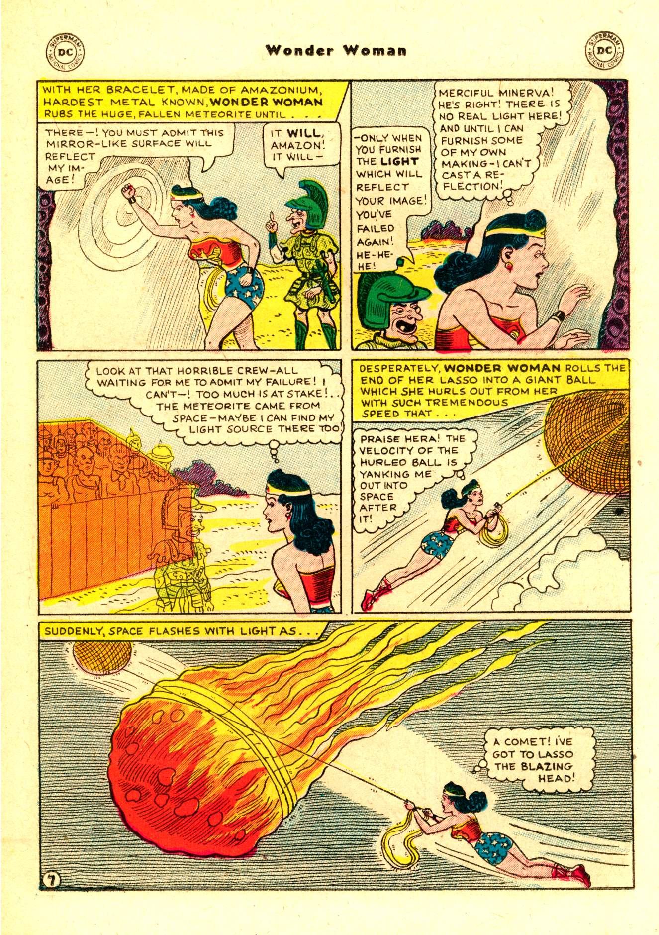 Read online Wonder Woman (1942) comic -  Issue #84 - 20