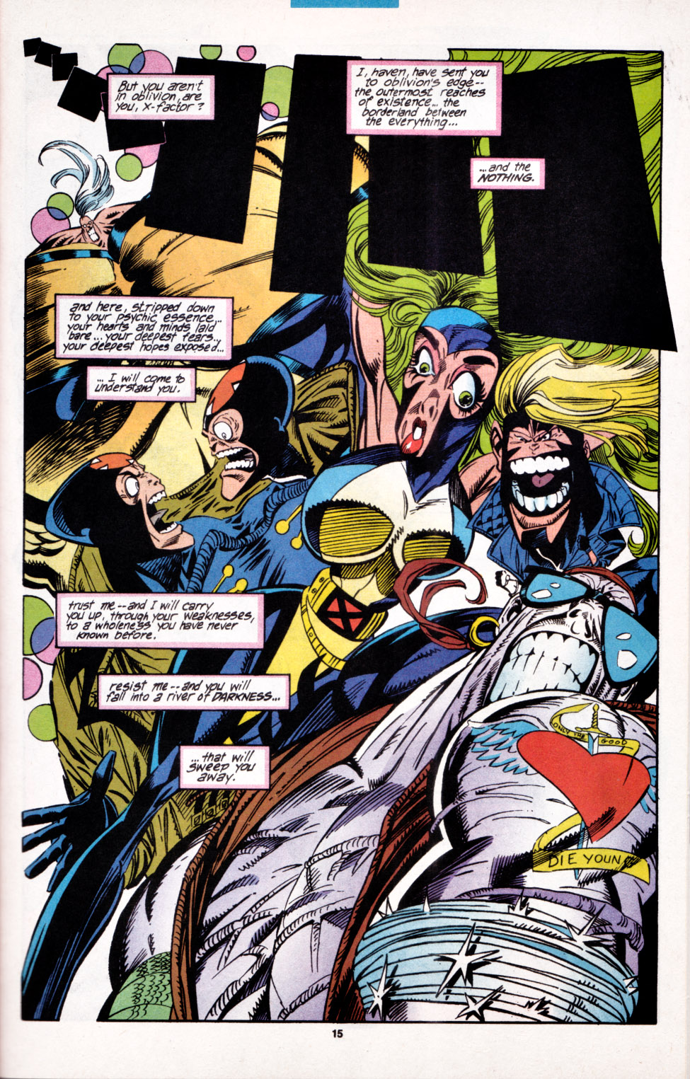 Read online X-Factor (1986) comic -  Issue #100 - 12