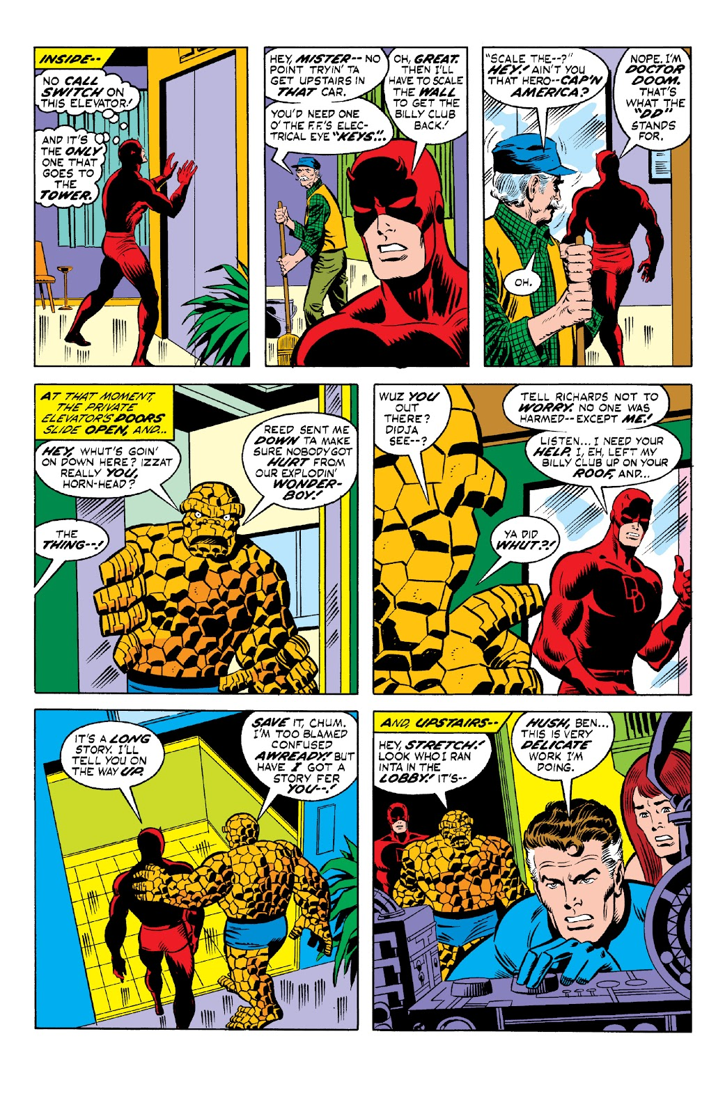 Read online Marvel Two-In-One Epic Collection: Cry Monster comic -  Issue # TPB (Part 1) - 91