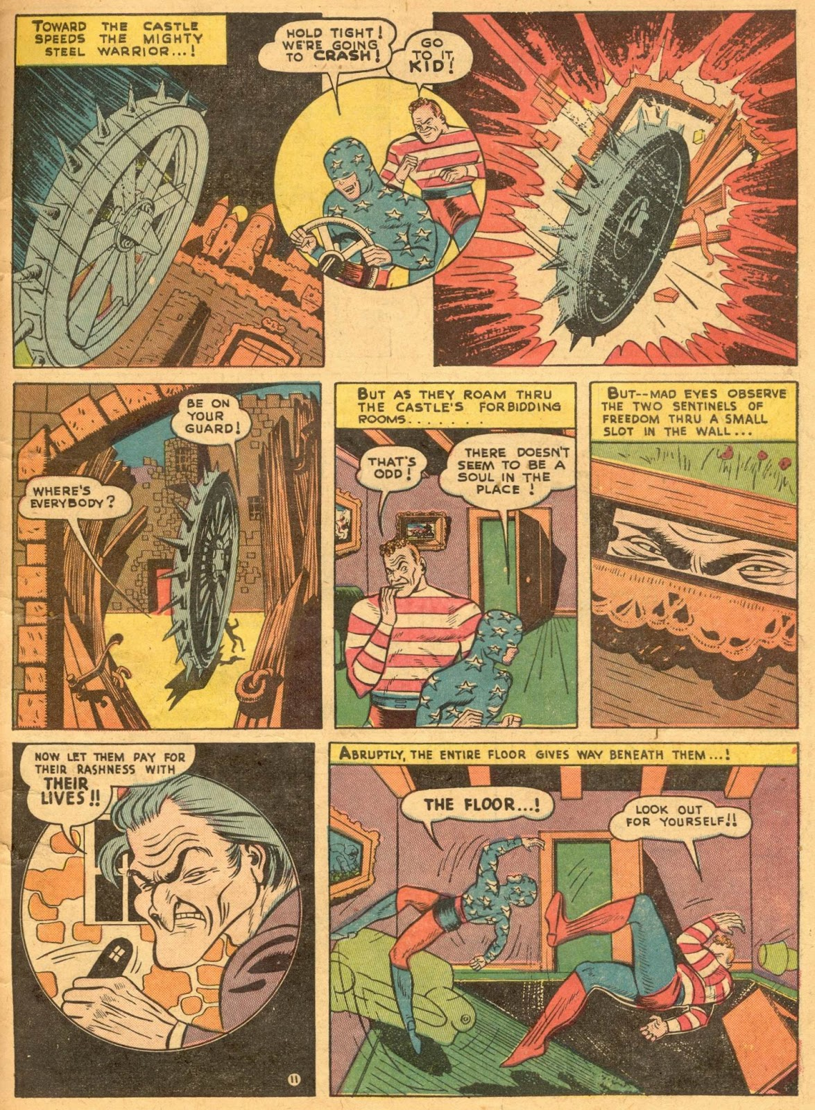 Star Spangled Comics (1941) issue 1 - Page 13
