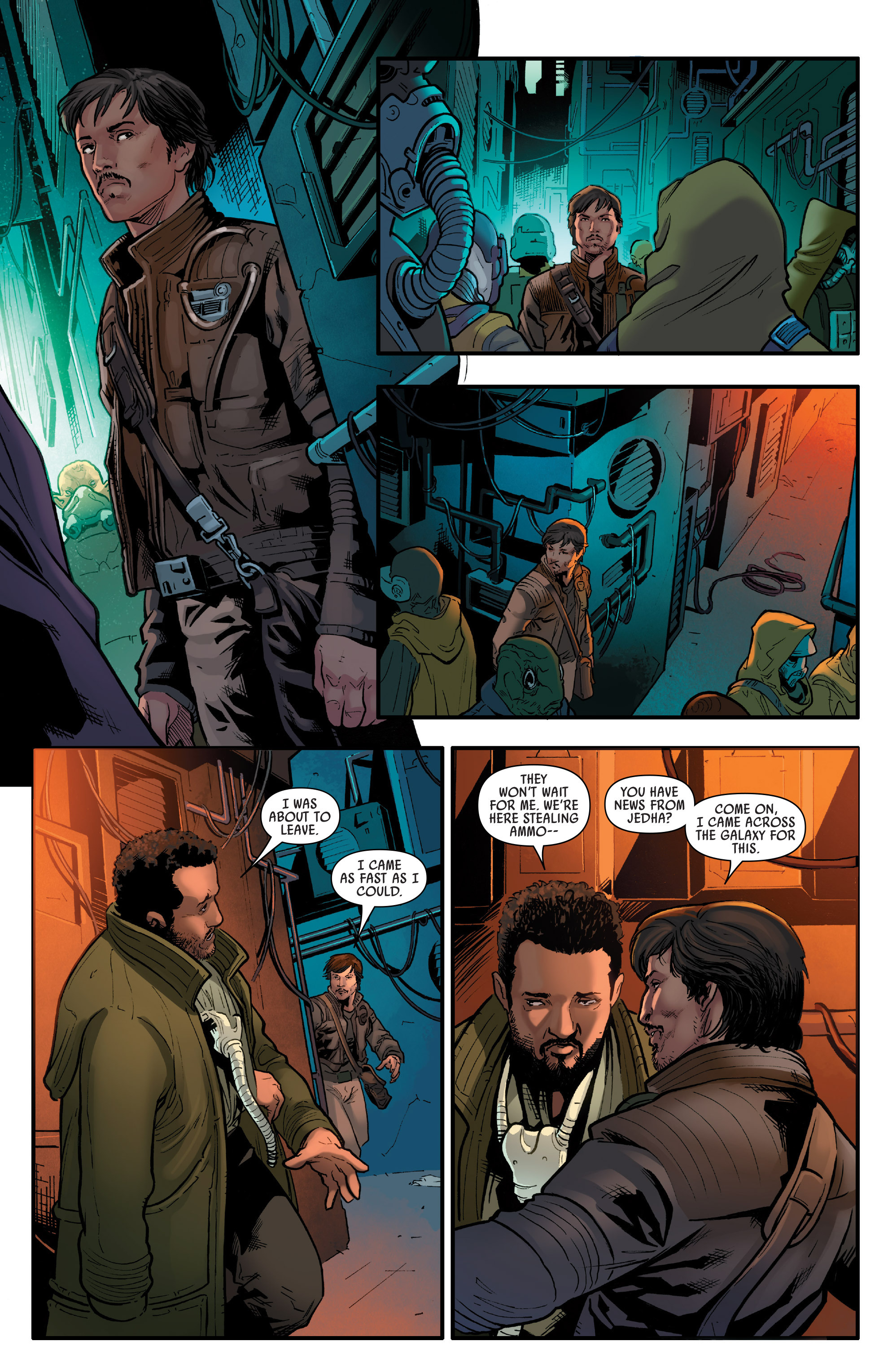 Read online Star Wars: Rogue One Adaptation comic -  Issue #1 - 12