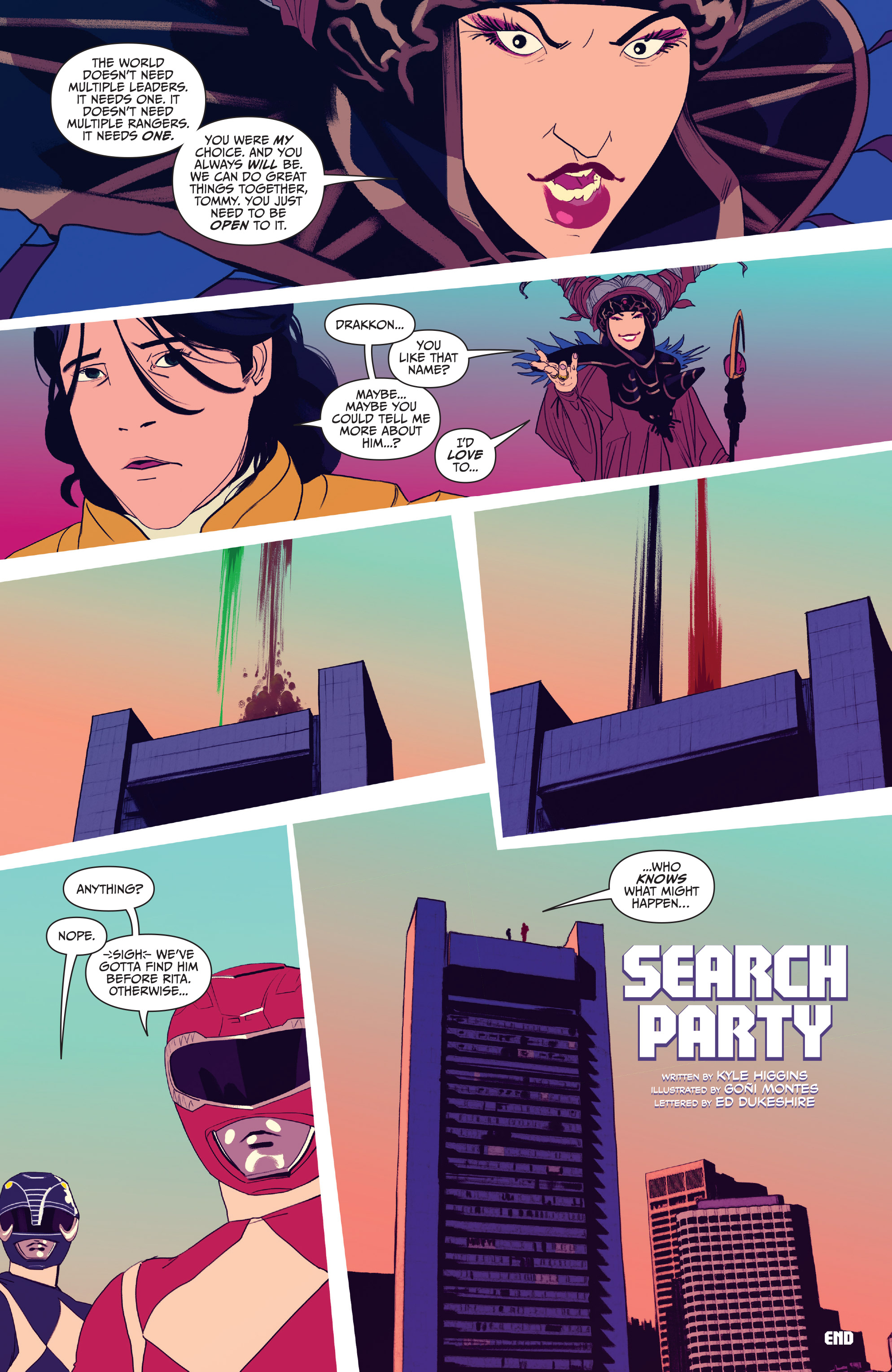 Read online Mighty Morphin Power Rangers comic -  Issue # _Annual 2017 - 8