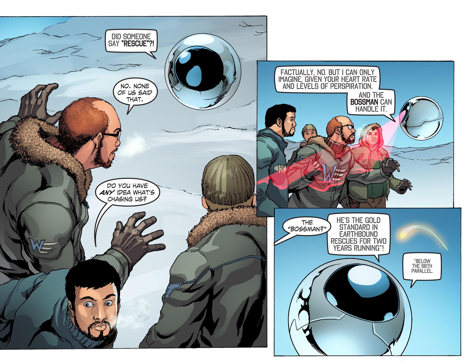 Read online Smallville: Season 11 comic -  Issue #42 - 4