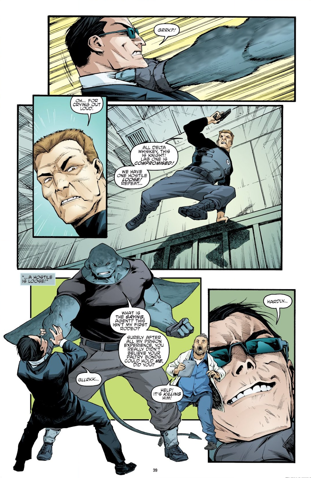 Read online Teenage Mutant Ninja Turtles: The IDW Collection comic -  Issue # TPB 9 (Part 1) - 40