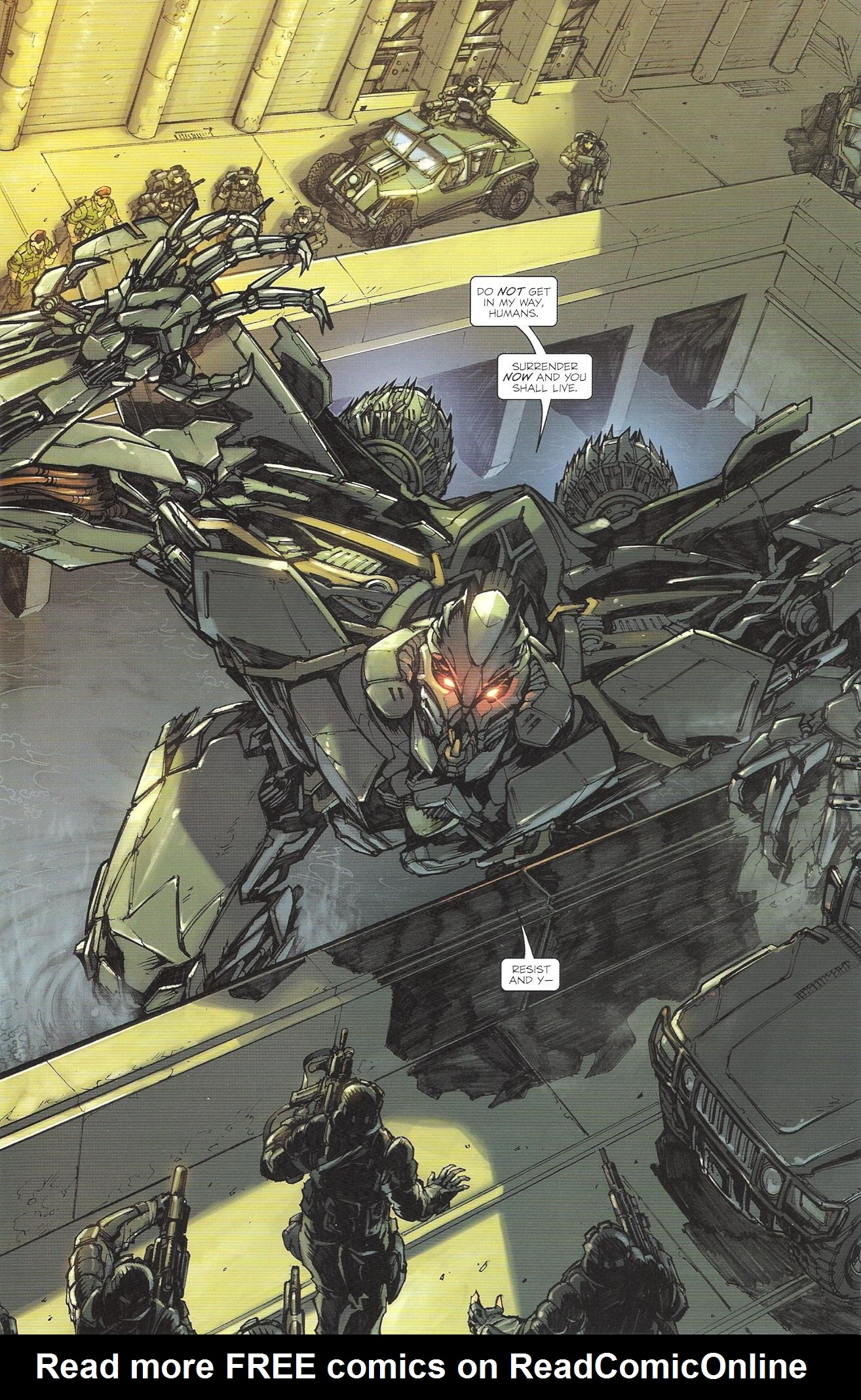 Read online Transformers: The Reign of Starscream comic -  Issue #2 - 3