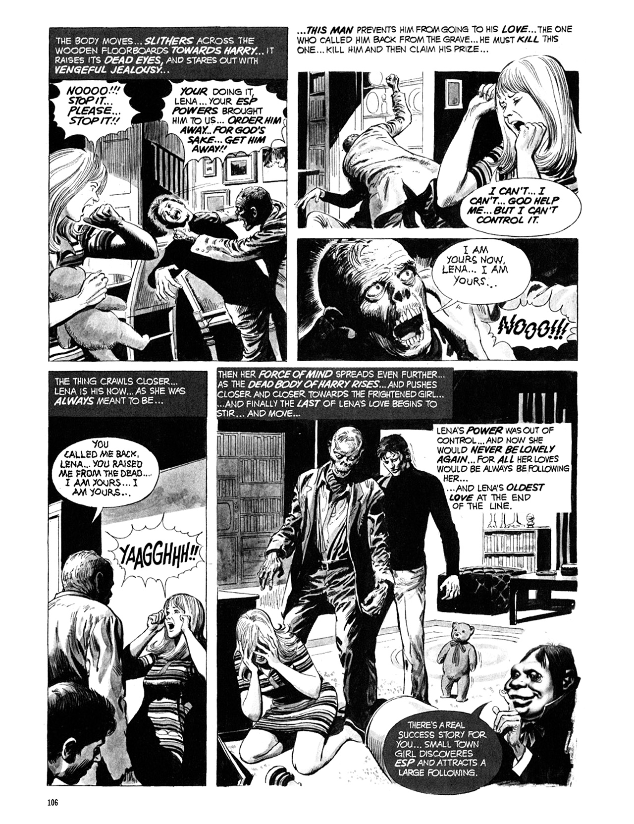 Read online Eerie Archives comic -  Issue # TPB 10 - 107