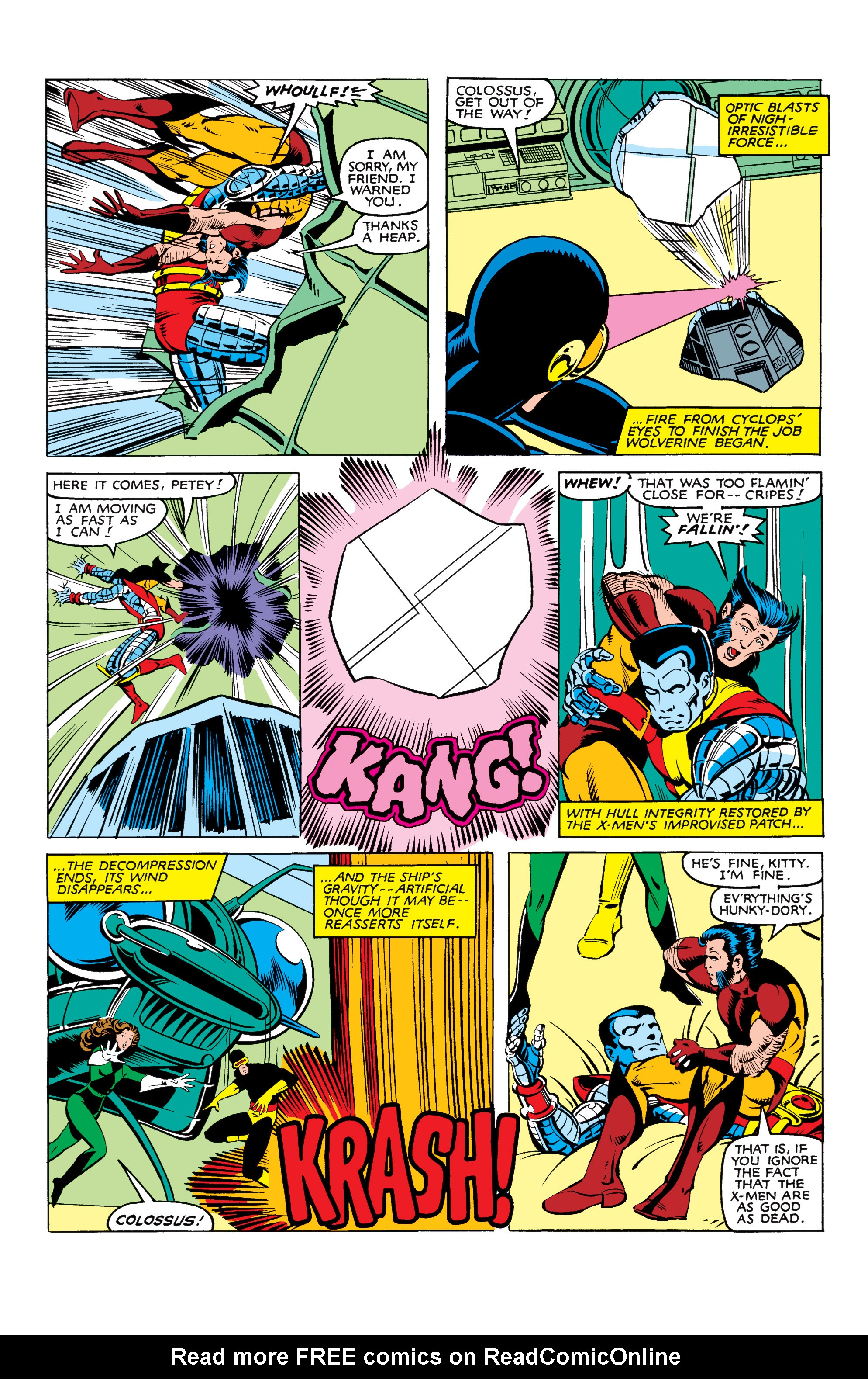 Read online Uncanny X-Men (1963) comic -  Issue #165 - 5