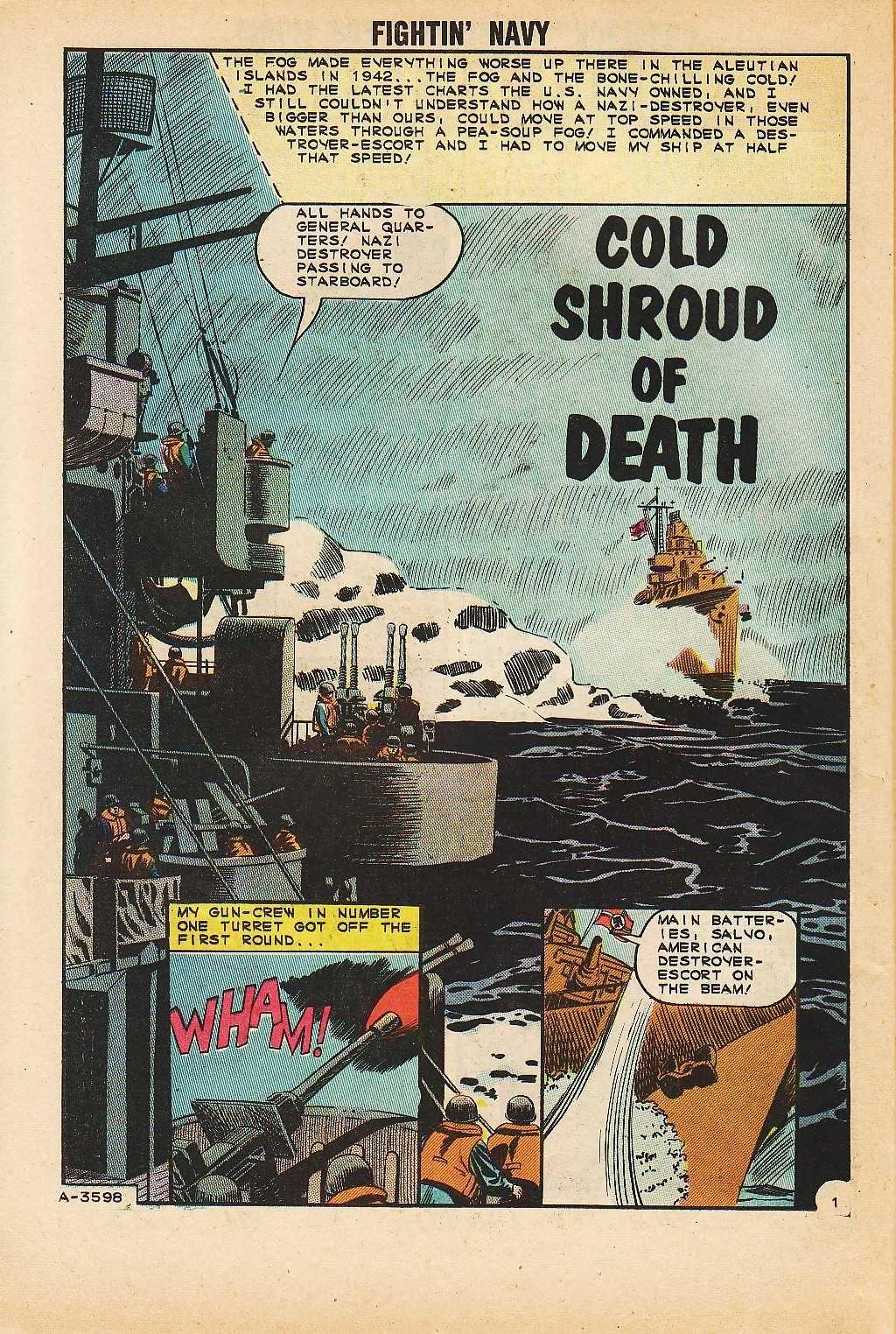 Read online Fightin' Navy comic -  Issue #116 - 26