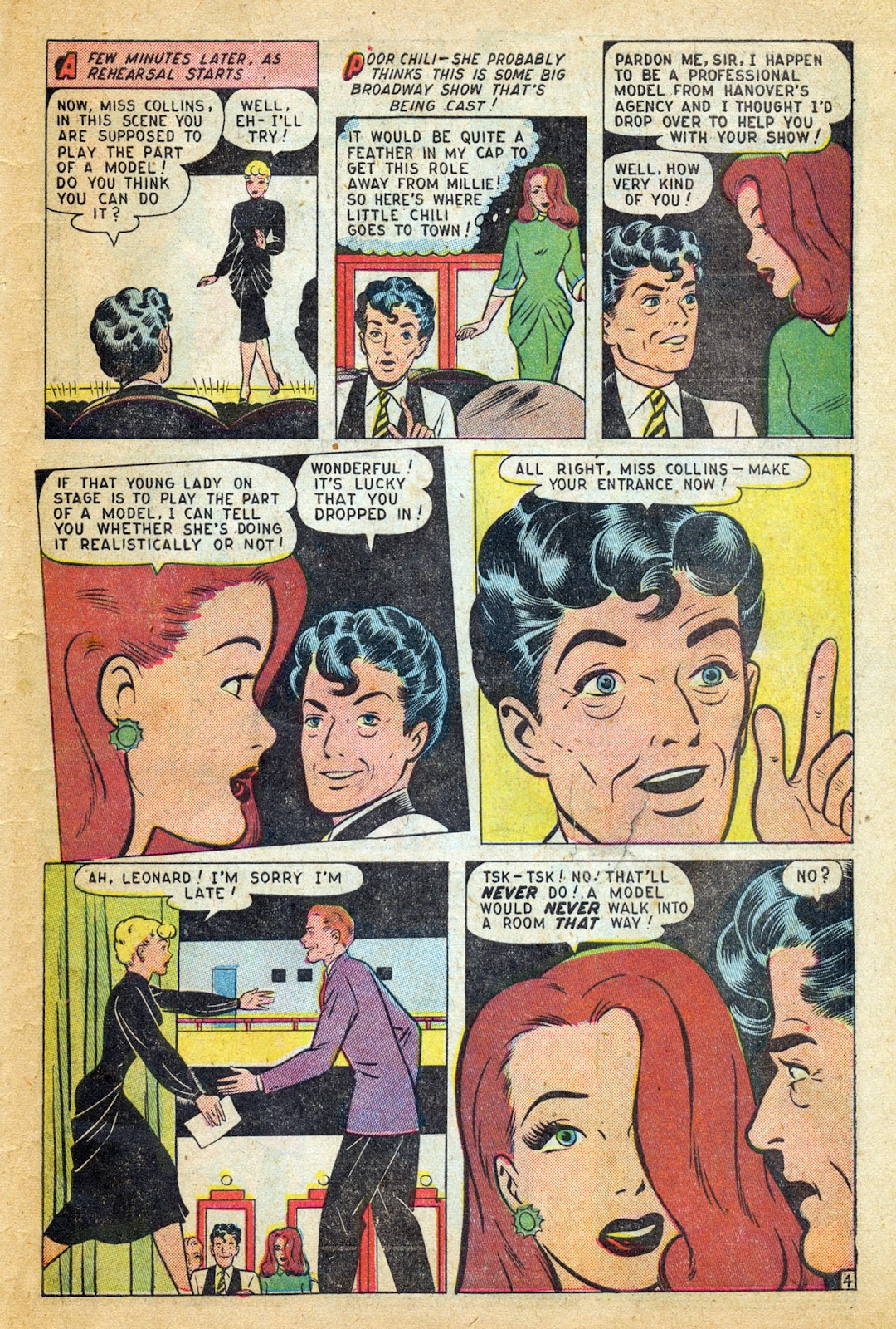 Read online Millie the Model comic -  Issue #14 - 45
