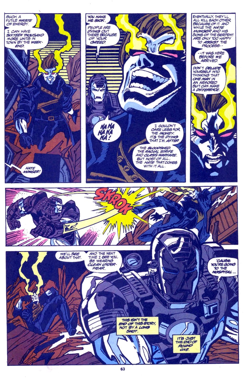 Avengers West Coast (1989) 100 Page 56