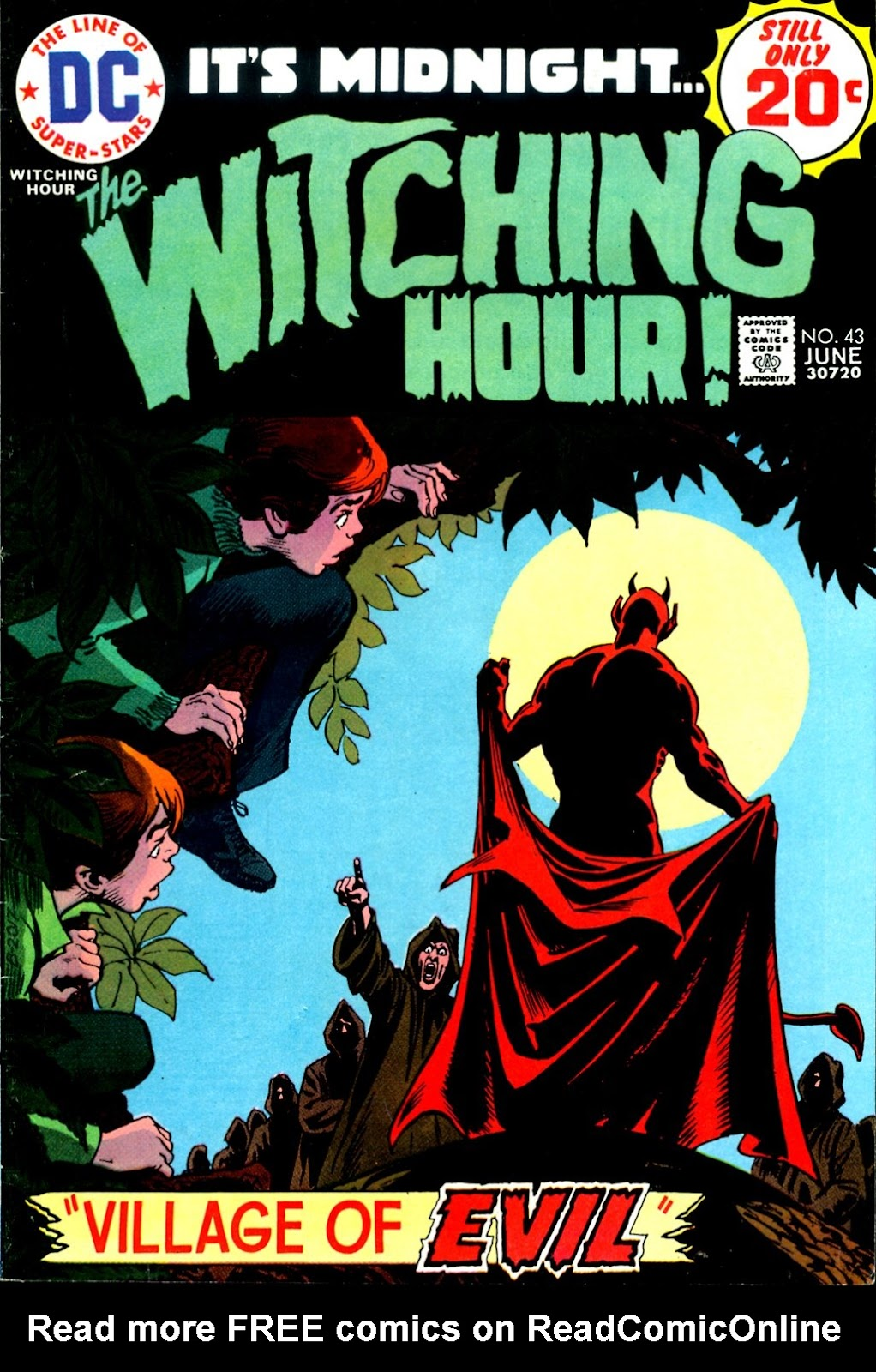 The Witching Hour (1969) issue 43 - Page 1