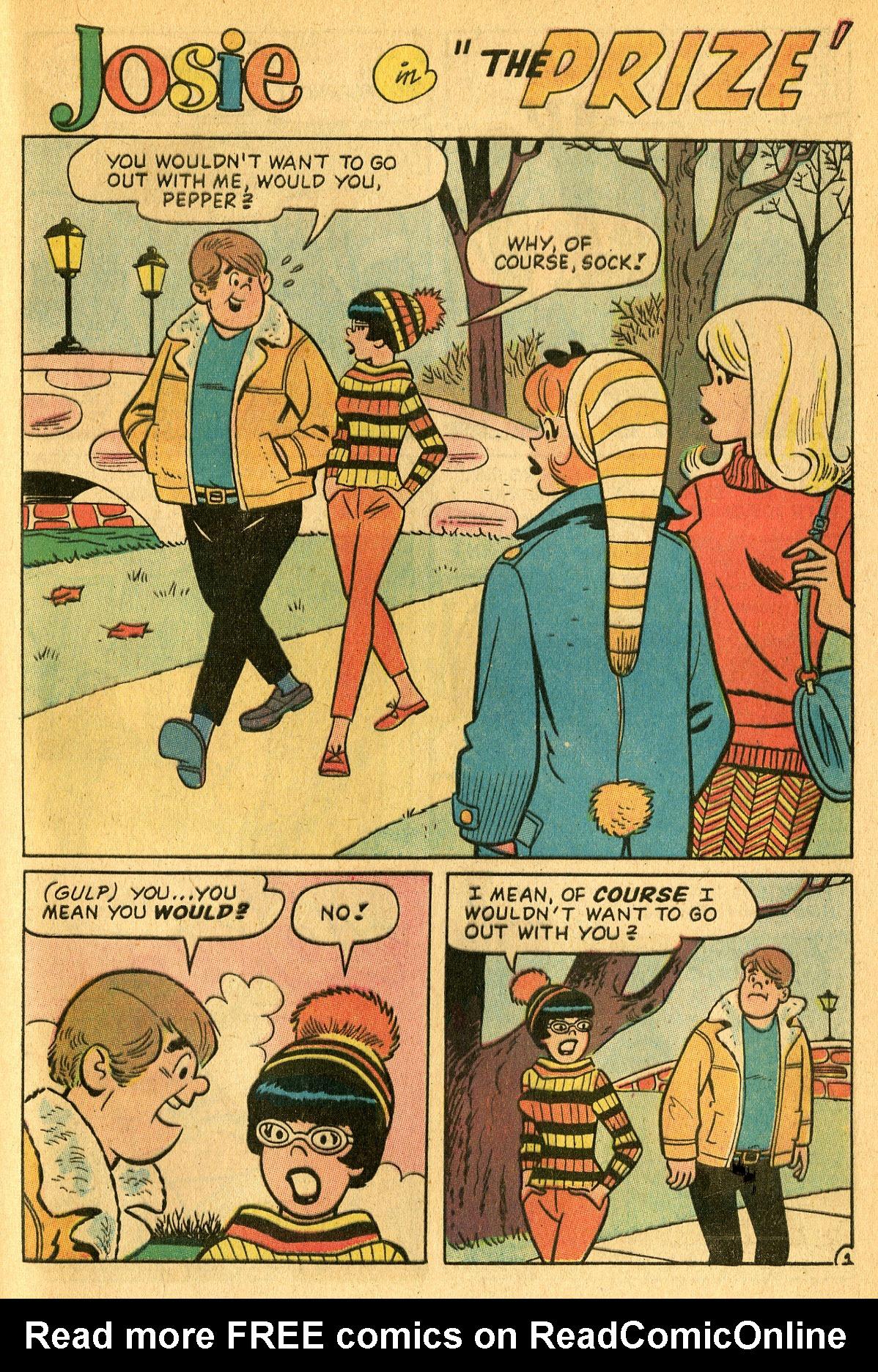 Read online She's Josie comic -  Issue #25 - 29