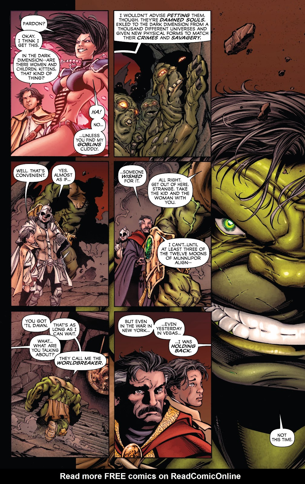 Read online Incredible Hulks (2010) comic -  Issue # _TPB Heart of the Monster - 95
