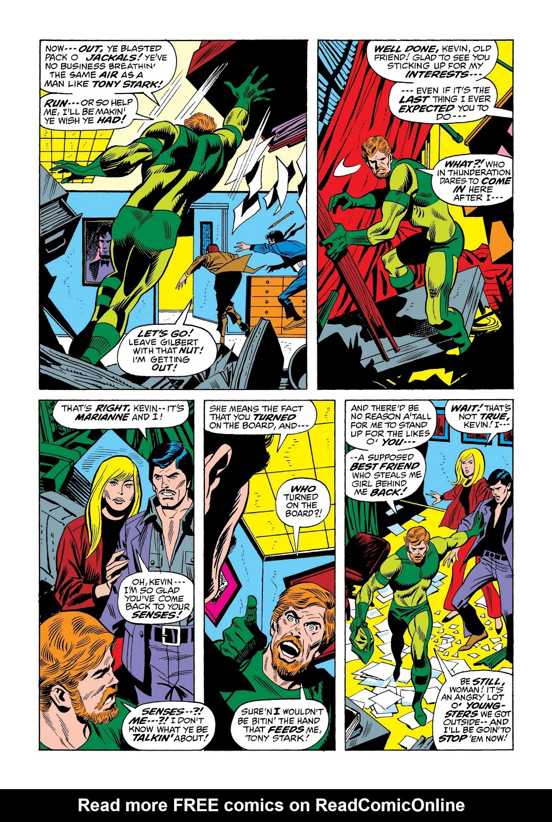 Read online Marvel Masterworks: The Invincible Iron Man comic -  Issue # TPB 8 (Part 2) - 52