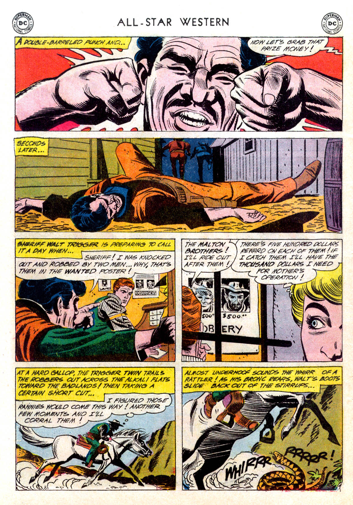 Read online All-Star Western (1951) comic -  Issue #116 - 28