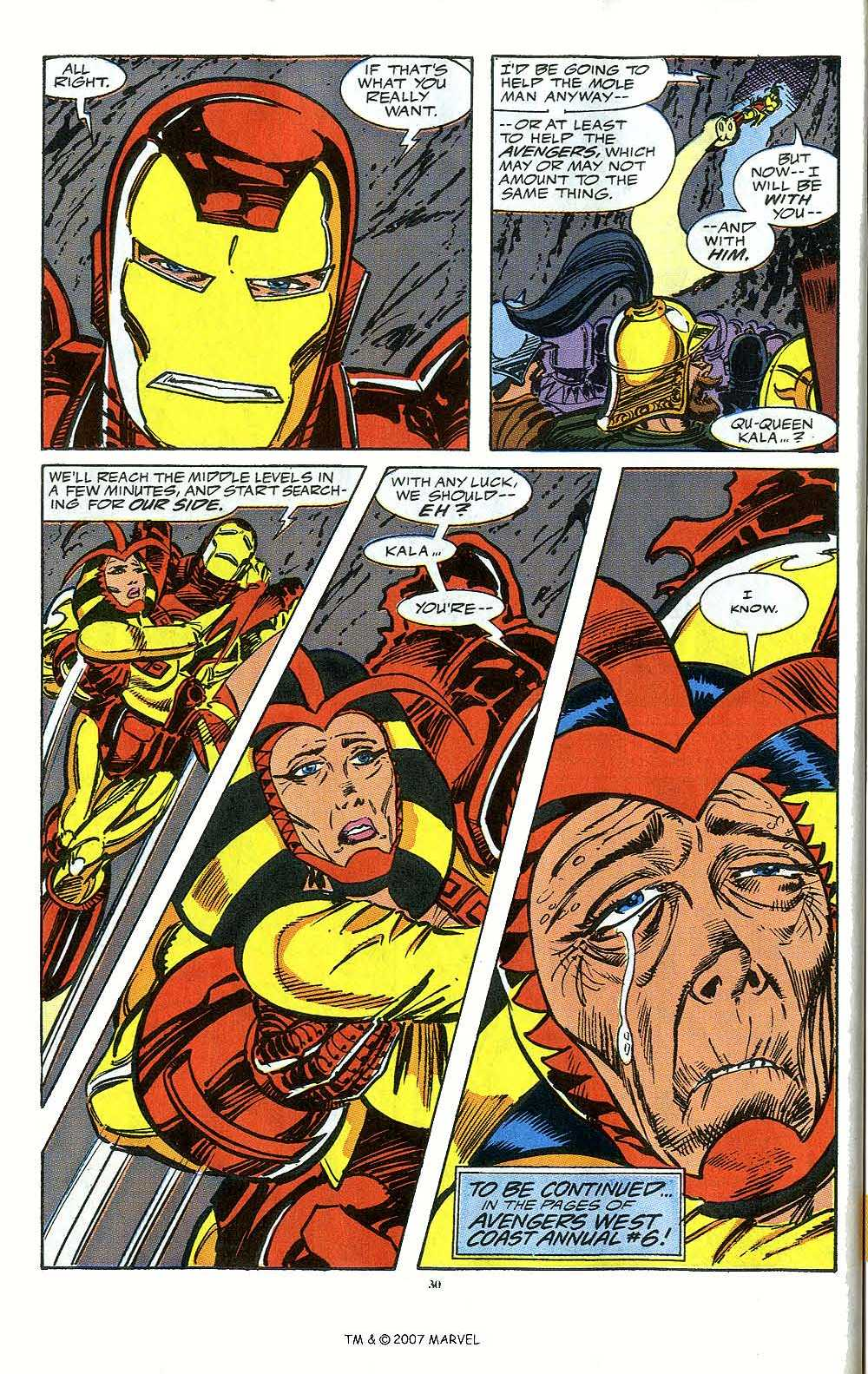 Iron Man Annual issue 12 - Page 32