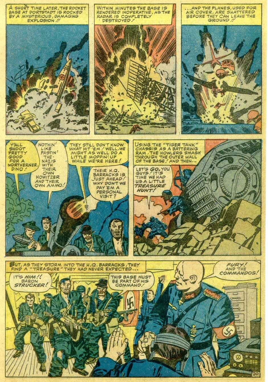 Read online Sgt. Fury comic -  Issue # _Annual 1 - 67