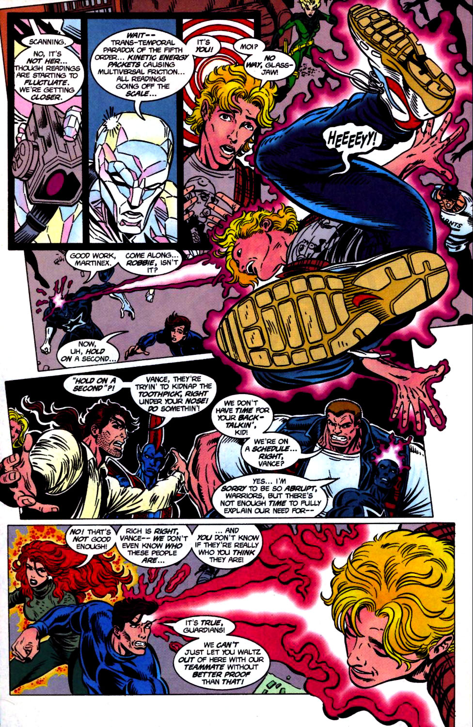 The New Warriors Issue #68 #72 - English 14