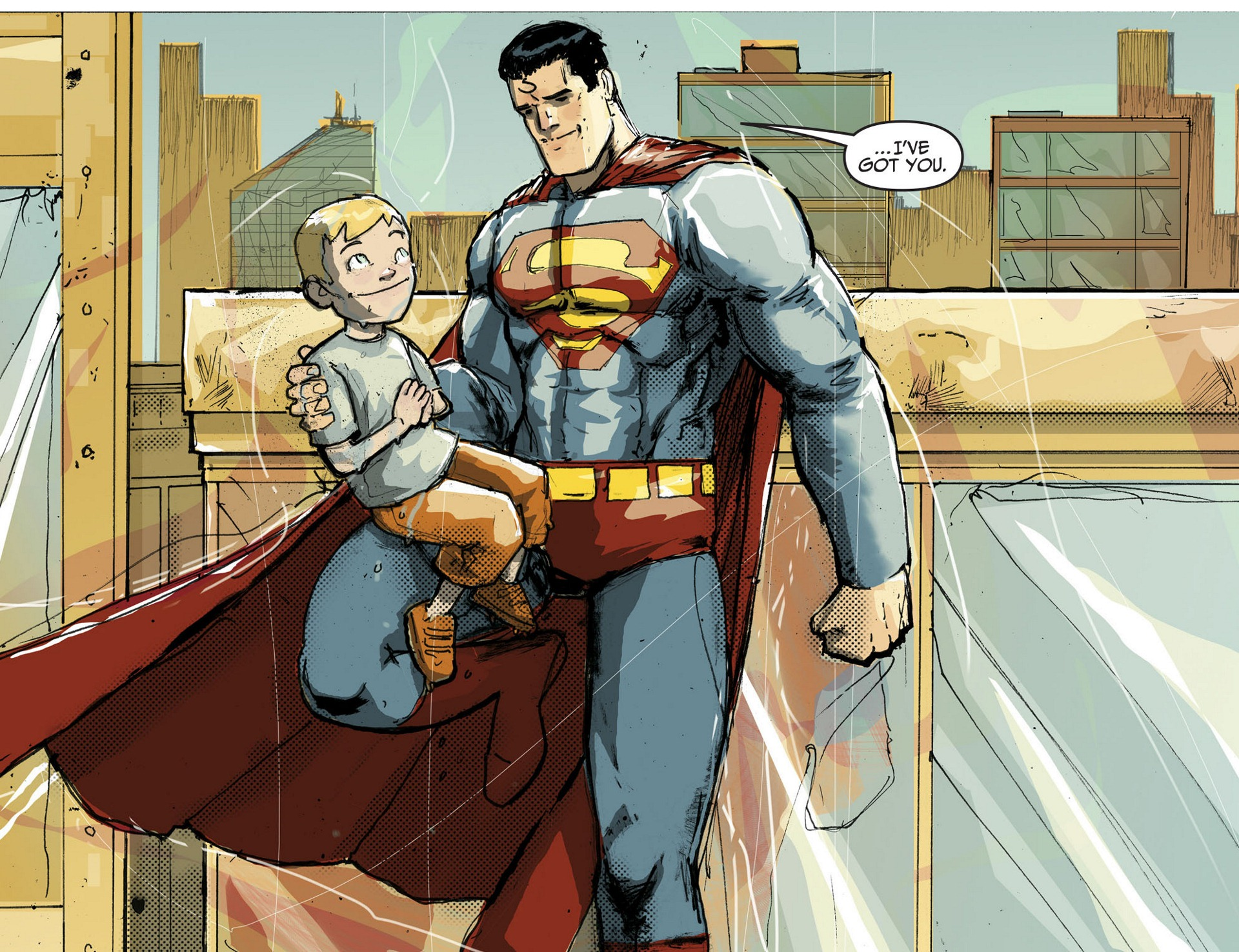 Read online Adventures of Superman [I] comic -  Issue #3 - 8